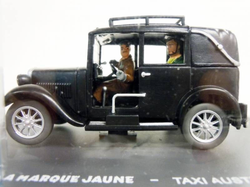 Blake & Mortimer - Hachette - The Yellow Mark: Taxi Austin