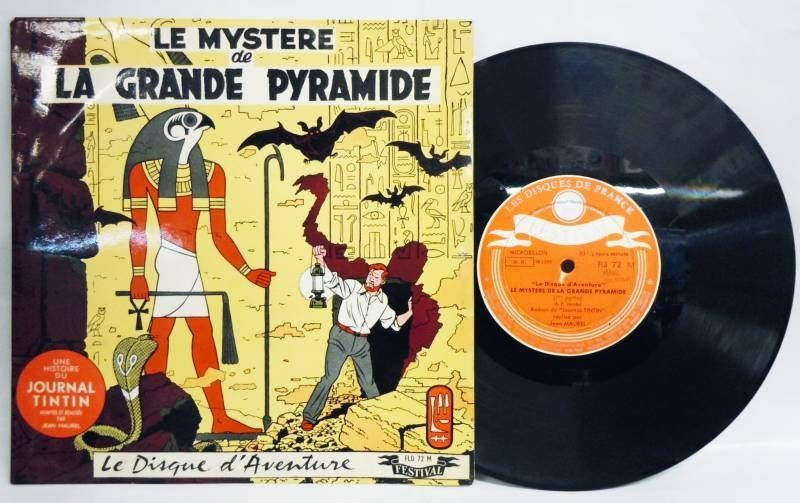 Blake & Mortimer - The mystery of the great pyramid - 33t 1/3 (25cm) Record - Festival