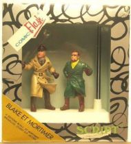 Blake & Mortimer Mint in box pencil holder with figures