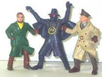 Blake & Mortimer set of 3 Comics Spain pvc  figures
