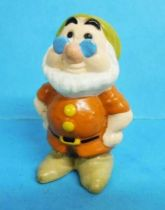 Blanche Neige - Figurine PVC Disney - le nain Prof