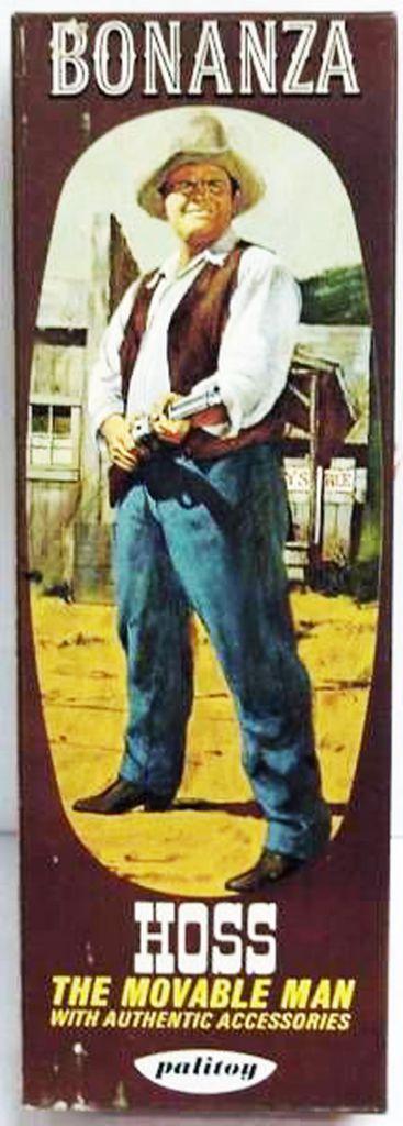 Bonanza - Palitoy - Eric « Hoss » Cartwright - Mint in Box 8\'\' action figure
