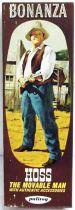 Bonanza - Palitoy 1966 - Eric « Hoss » Cartwright - Figurine 20cm neuve en boite