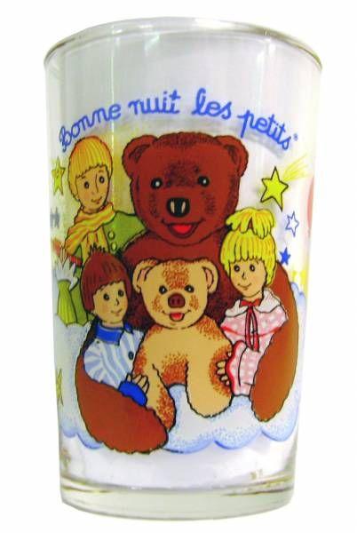Bonne Nuit les Petits - Amora Mustard Glass - Nounours is back.