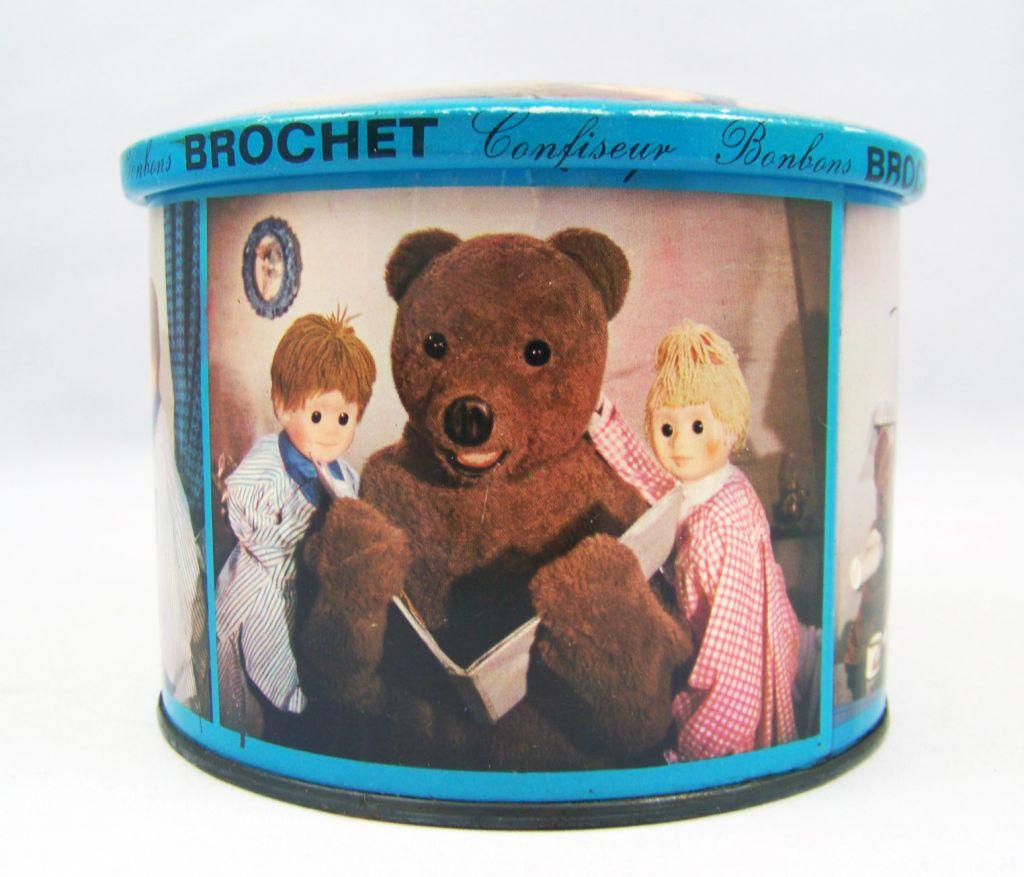 Bonne Nuit les Petits - Boite en tole bleue Brochet 05