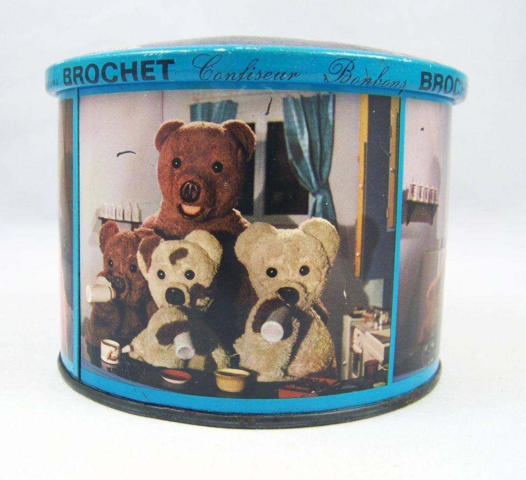 Bonne Nuit les Petits - Boite en tole bleue Brochet 06