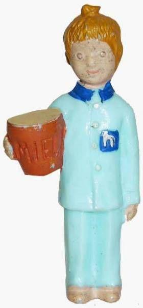 Bonne Nuit les Petits - Jim Figure - Nicolas (with honey pot)