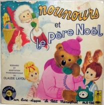 Bonne Nuit les Petits - Mini Lp and book - Nounours and  Santa Claus