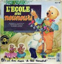 Bonne Nuit les Petits - Mini Lp and book - Nounours and school