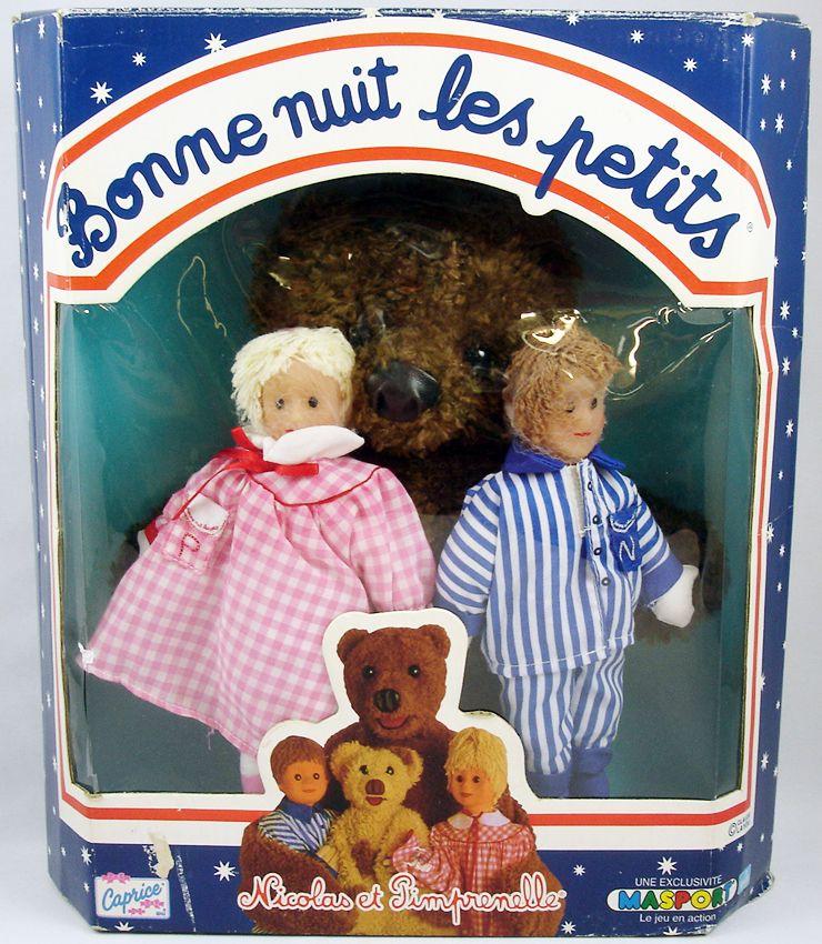 Bonne nuit les petits poup es de chiffon nicolas pimprenelle et nounours - Personnage bonne nuit les petit ...