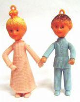 Bonne Nuit les Petits - Querzola Plastic Figures - Nicolas & Pimprenelle