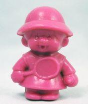 Bonux Kiki Joueuse tennis figurine rose