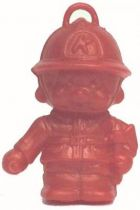 Bonux Monchichi Fireman red figure