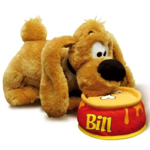 Boule & Bill - Lansay Talking Plush - Bill