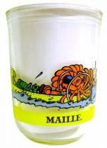 Boule & Bill - Mustard glass Maille - 22! v\'la Boule & Bill: n°5 Boule, Bill & Caroline in canoe