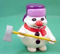 Bouli - Bouli Lumberjack (purple hat) -  Roda Voisins PVC Figure
