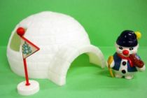 Bouli - Minigloo with Bouli Gran\'Pa - Roda Voisins Playset & PVC Figure