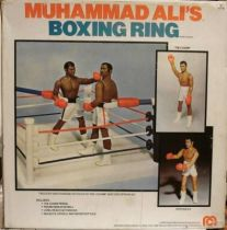 Boxing Ring (mint in box) with Muhammad Ali & Ken Norton - Mego