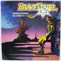 BraveStarr - Disque 45Tours - Musique originale de la série TV CBS Records 1987