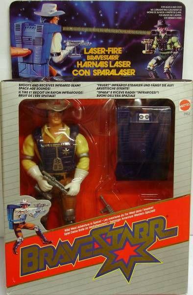 BraveStarr - Laser Fire Bravestarr