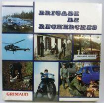 Brigade de Recherches - Jeu de société - Grimaud 1980