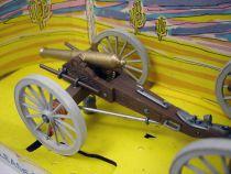 Britains - Federate - American Civil War Gun Team and Limber (Mint in box)
