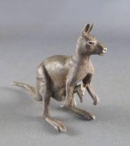 Britains - Zoo - Animaux - Kangourou avec bébé