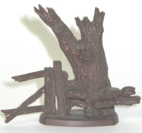 Britains Cowboy  accessory tree trunk