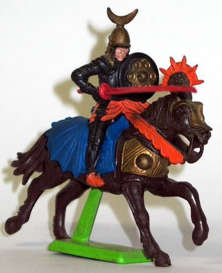 Britains Deetail - Middle-Ages - Turkish Mounted Jousting