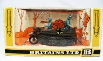 Britains Deetail - WW2 - Allemand - Véhicule Kettenkrad neuf en boite (réf 9780)