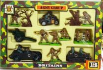 Britains Deetail - WW2 - German British Deluxe Army Group Set Mint in box