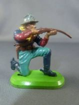 Britains Deetail (China) - U.S. Cavalry - Footed kneeling firing rifle
