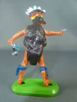 Britains Deetail (China) Indian Footed with Axe & Pistol