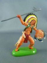 Britains Deetail (China) Indian Footed with spear & shield