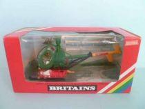 Britains Deetail Américain véhicule Hélicoptere de secour avec blessé neuve en boite (réf 9761)
