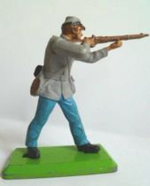 Britains Deetail Confederate Footed firing rifle standing