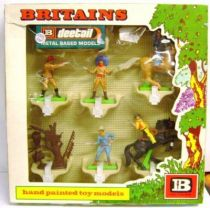 Britains Deetail Cowboy Mint  Boxed set of 6 figures