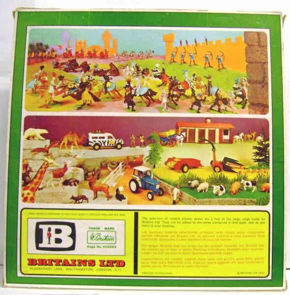 Britains Deetail Cowboy Mint  Boxed set of 6 figures