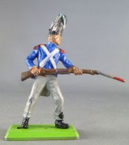 Britains Deetail Waterloo French Imperial Guard charging with bayonet
