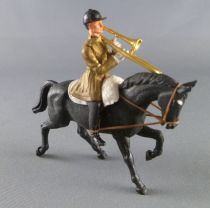 Britains Eyes Right Regimental Soldier Band of the guard Mounted trombone