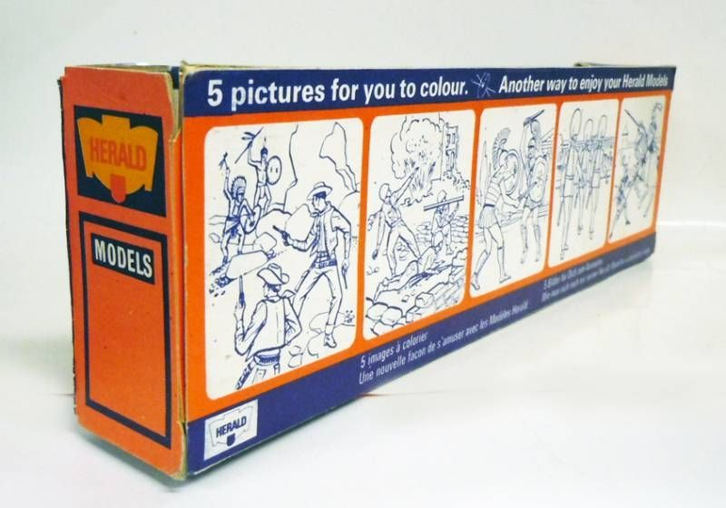 Britains Herald - Middle-Ages - Boxed set of five knights (Réf 4406)
