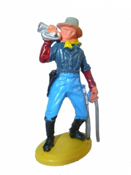 Britains Herald - U.S. 7th Cavalry - Footed bugler