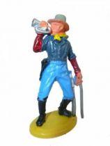 Britains Herald - U.S. 7th Cavalry - Footed bugler