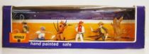 Britains Herald Cowboy Mint Boxed set of 5 figures (ref 4606)