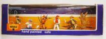 Britains Herald Cowboy Mint Boxed set of 5 figures (ref 4606)