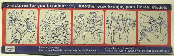 Britains Herald Cowboy Mint Boxed set of 6 figures (ref 4606)