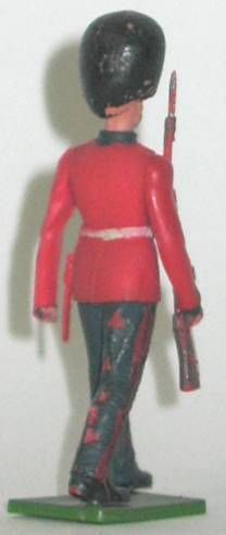 Britains Herald Regimental Soldier Guard marching rifle on right shoulder