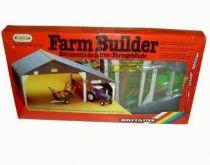 Britains Mint in Box Farm Builder Garage Building (ref 4708)