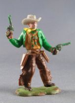 Britains Swoppets Cowboy Footed Sheriff 2 pistols