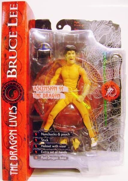 Bruce Lee - Ascension of the Dragon - 7\'\' action figure Art Asylum